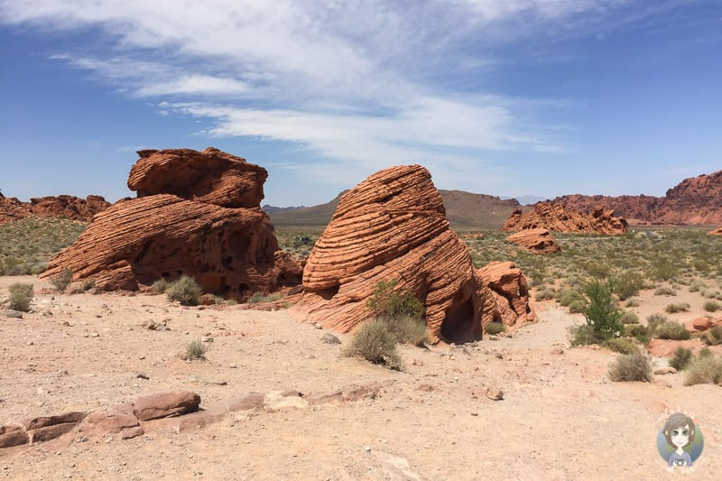 Beehives Rocks im Valley of Fire State Park