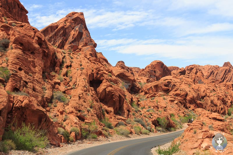 Red Rocks im Valley of Fire Statepark
