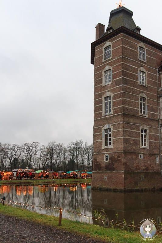 Das Schloss Merode bei Düren