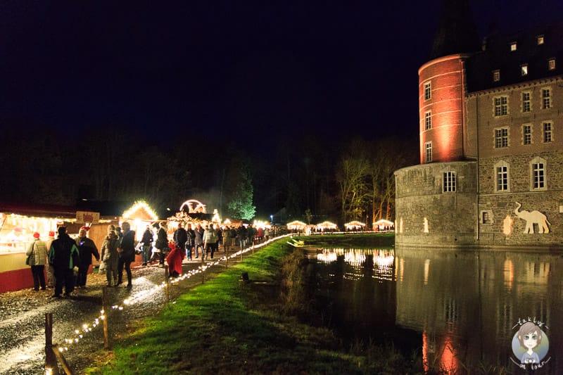 Weihnachtsmarkt Schloss Merode Düren