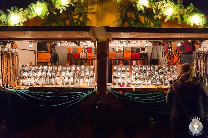 Stand Weihnachtsmarkt Schloss Merode