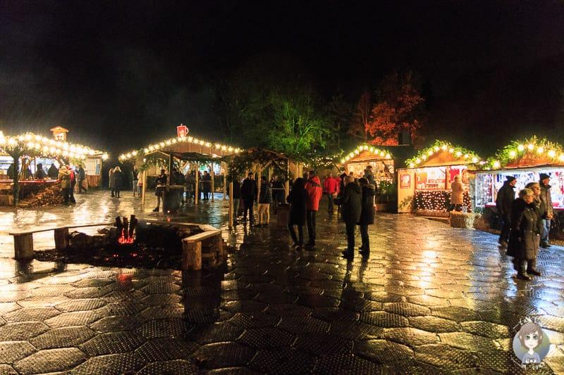 Weihnachtsmarkt Schloss Merode bei Düren