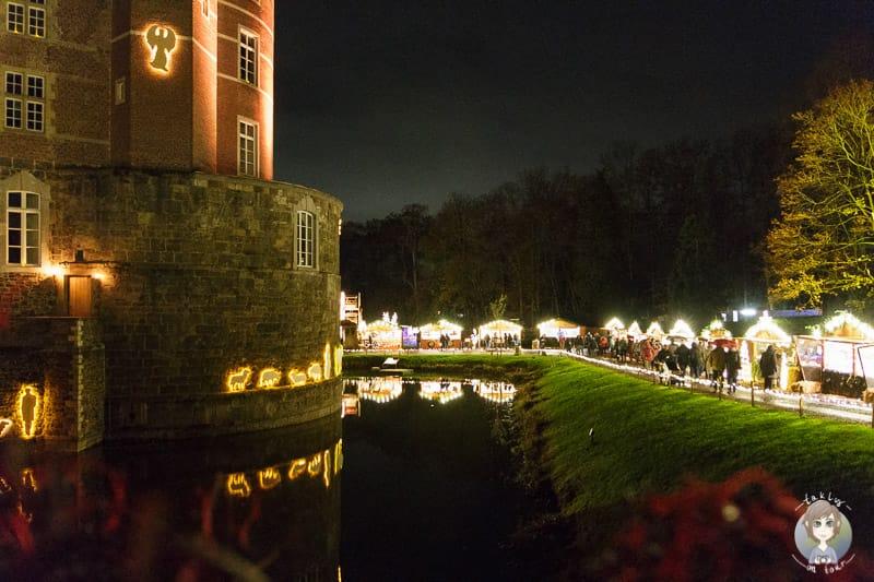 Weihnachtsmarkt Schloss bei Langerwehe