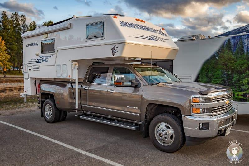 Eine Wohnmobilreise in Kanada mit dem Truck Camper