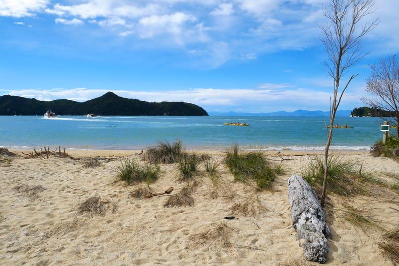 Neuseeland mit Kind im Abel Tasman