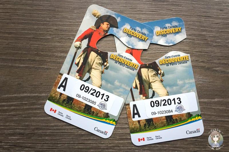 Zwei Mal Parks Canada Discovery Pass für Nationalparks in Kanada