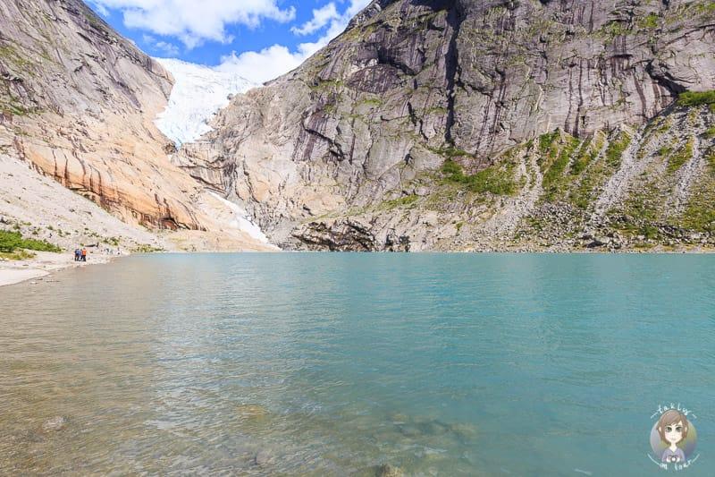 Der Briksdal Gletscher
