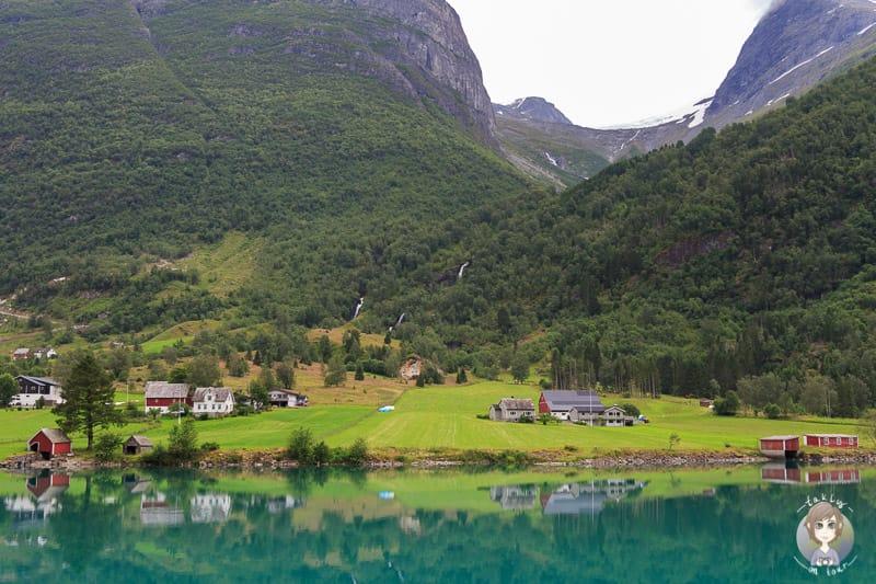 Kleine Dörfer in Olden