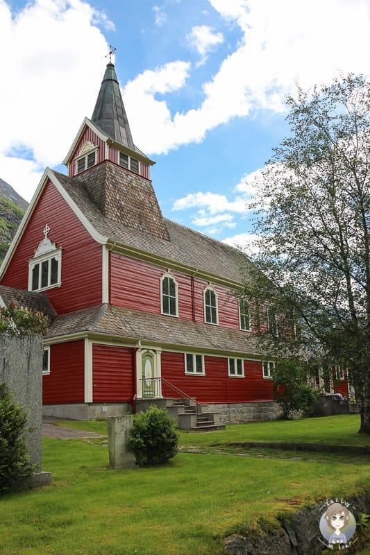 Eine kleine Kirche in Olden