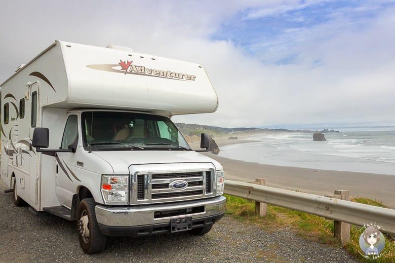Ein Camper gemietet und durch die USA gereist