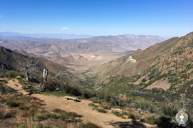 Aussicht vom Mount Laguna am Sunrise Highway