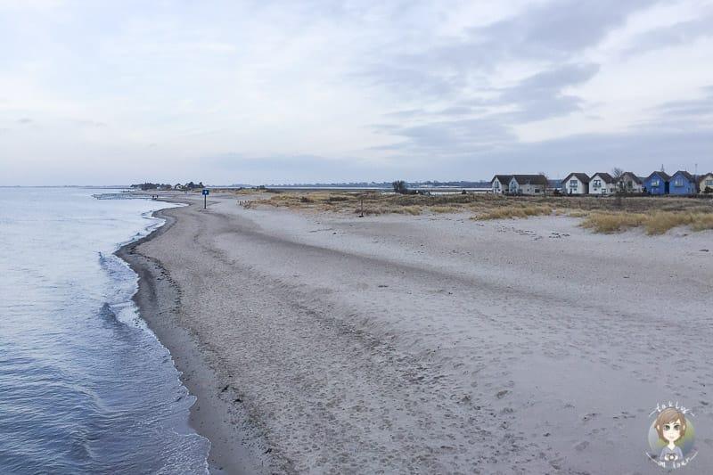 Auf Graswarder lohnt ein Strandspaziergang