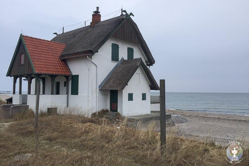 Ein Haus auf Graswarder in Heiligenhafen
