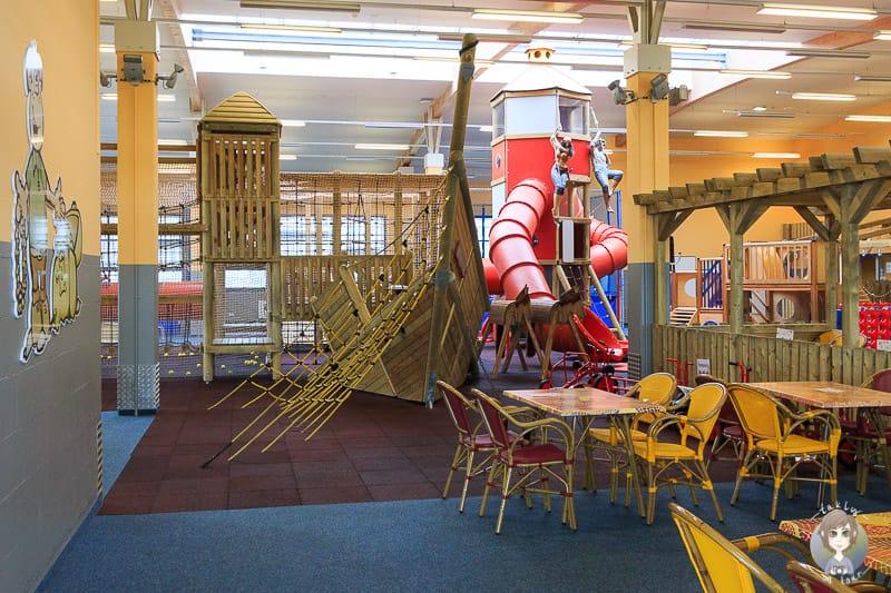 Indoorspielplatz Aktiv Hus Urlaub Heiligenahafen Kind