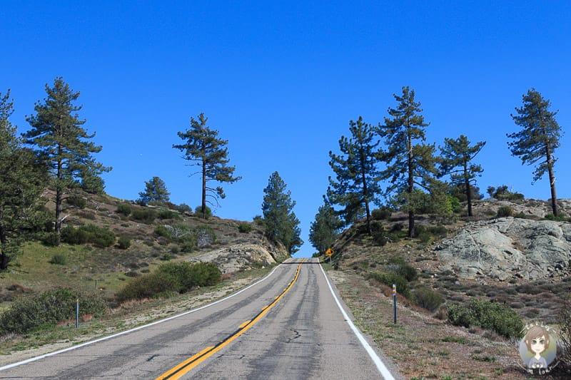 Die San Diego Scenic Route Richtung Mt Laguna