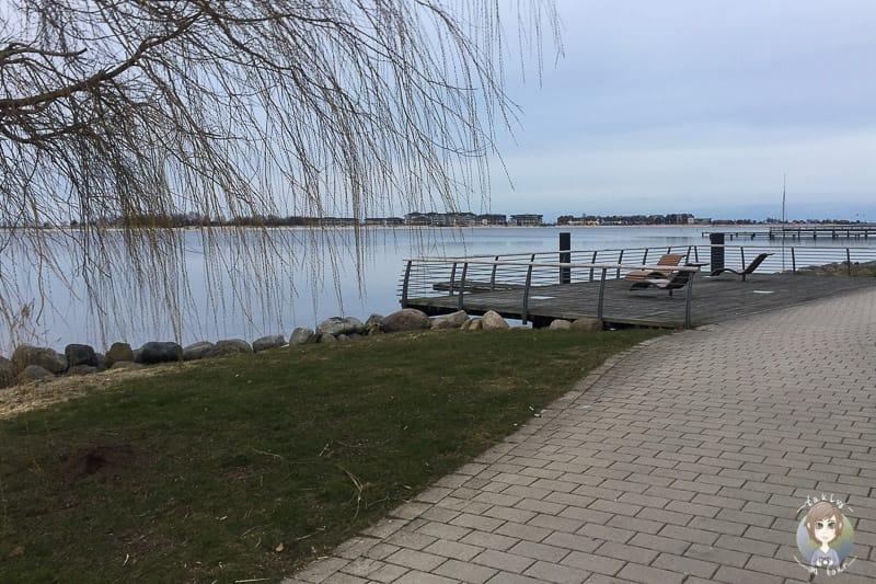 Spaziergang in Heiligenhafen am Binnensee