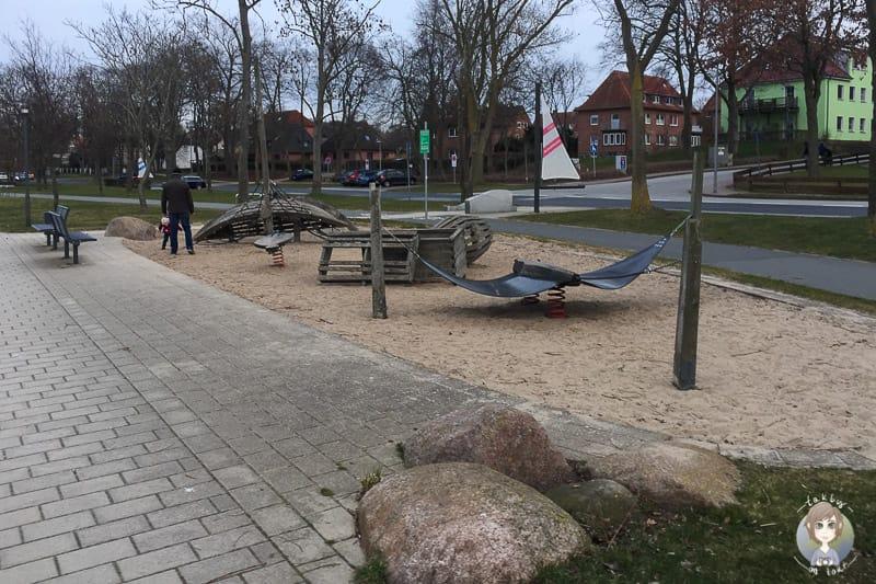Spielplatz am Binnensee in Heiligenhafen