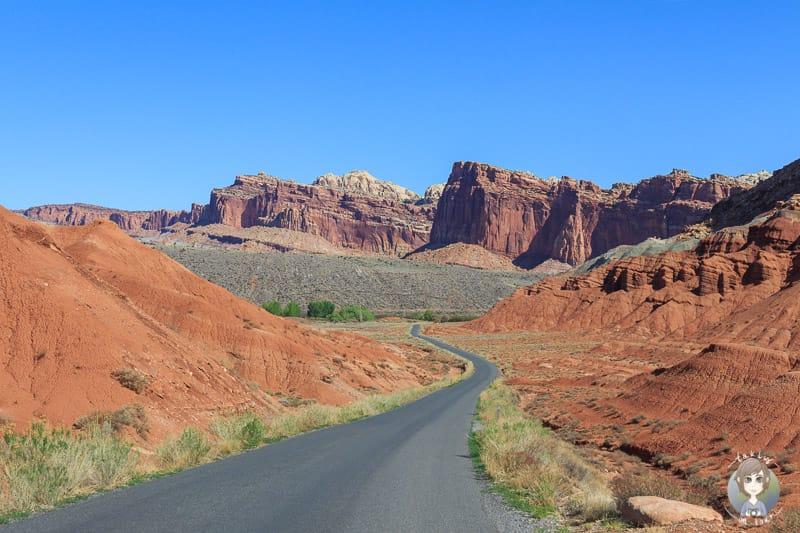 Landschaft beim USA Reisen und Camping
