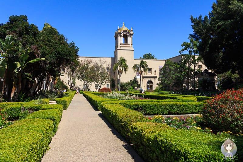 Alcazar Garden Balboa Park San Diego
