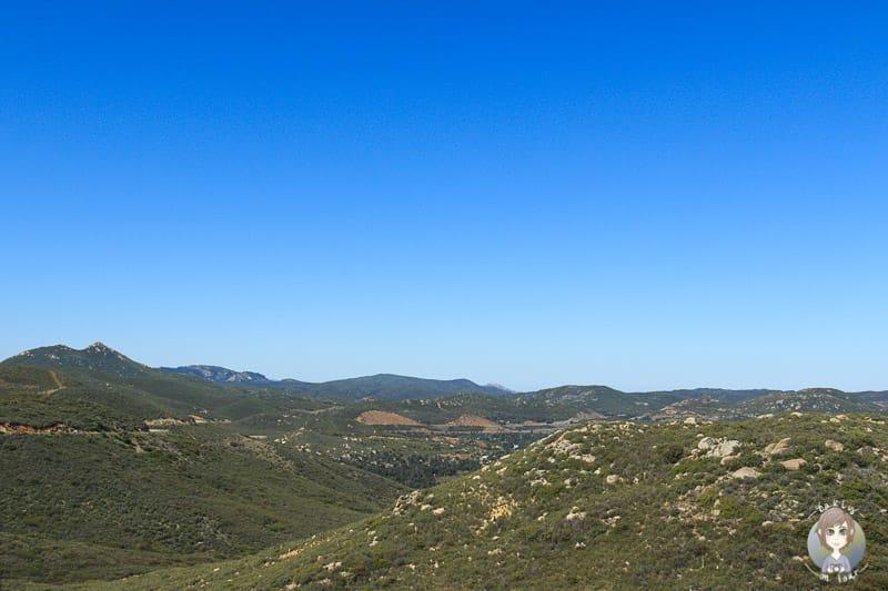 Aussicht vom Mount Laguna