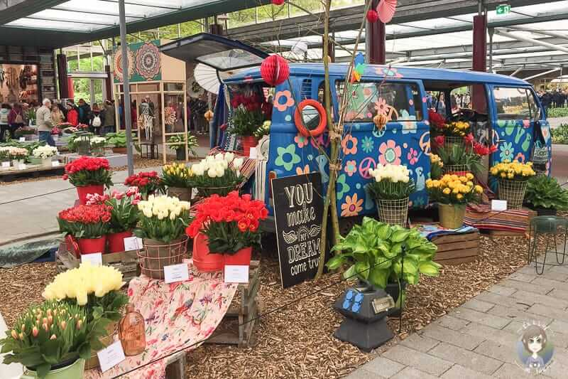 Blumen im Willem Alexander Pavillon im Keukenhof