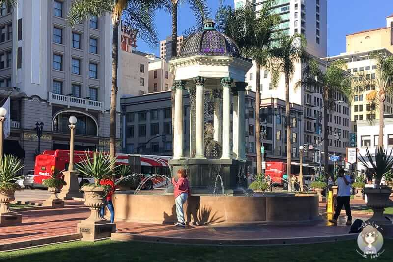 Brunnen Horton Plaza Park San Diego