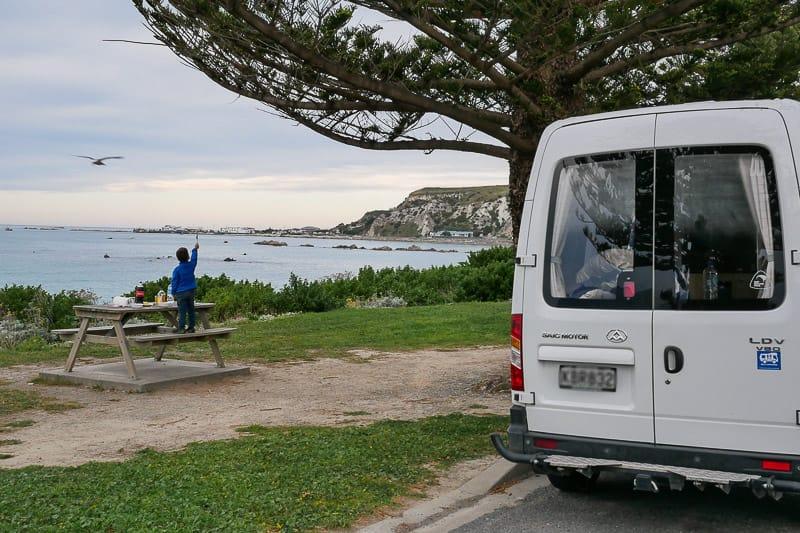 Camping mit Kindern im Campervan in Neuseeland
