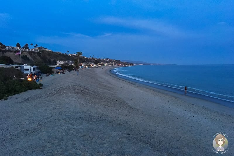 Doheny State Beach Abend