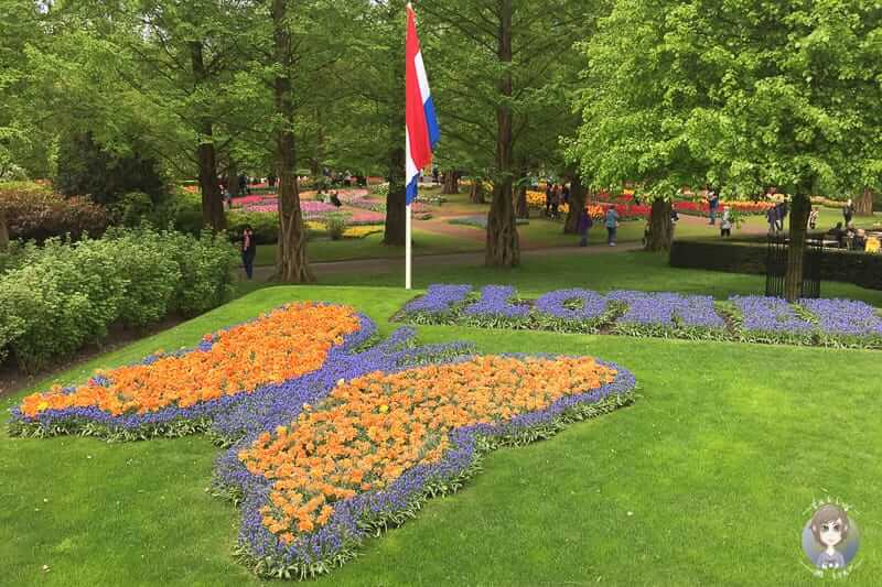 Motto Flower Power im Keukenhof