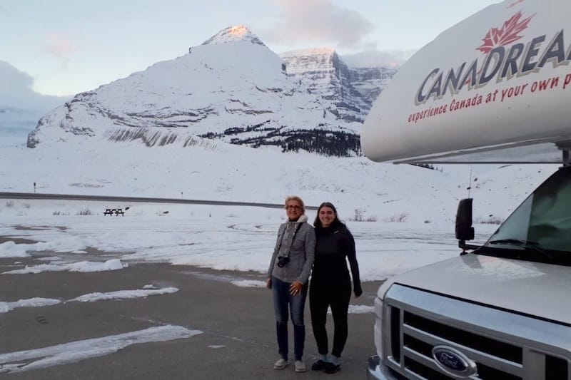 Mit dem Camper in Kanada während der Nebensaison