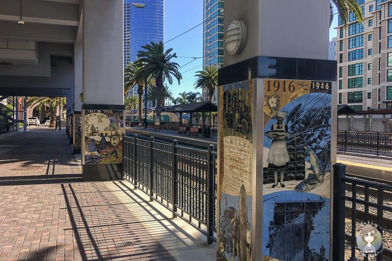 Malereien Bahnhof Santa Fe