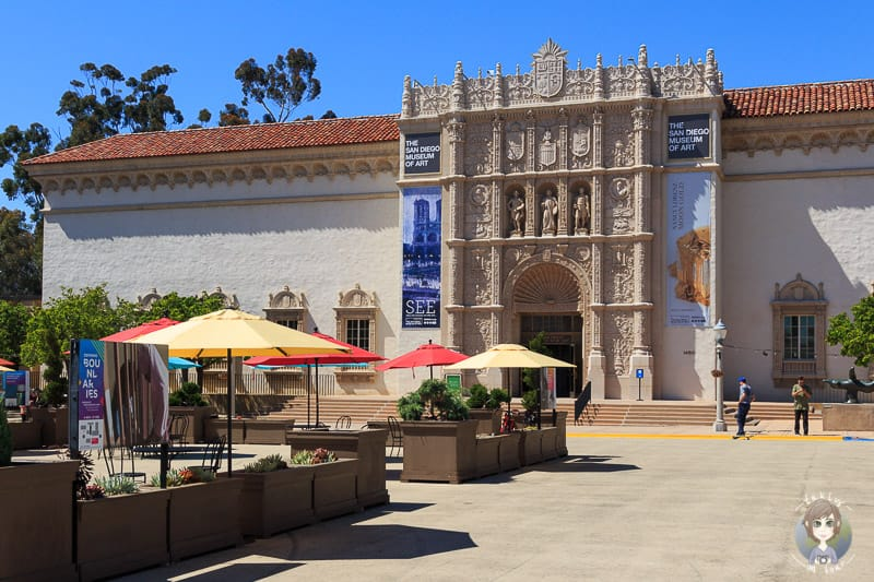 Museum of Art im Balboa Park in San Diego