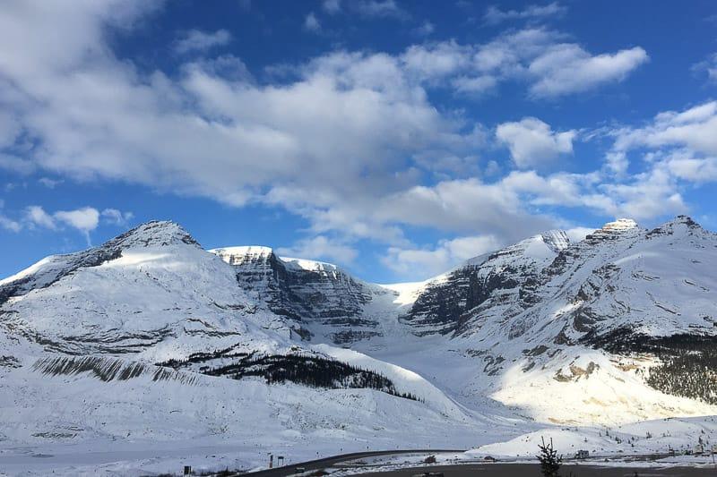 Nebensaison Kanada Schnee