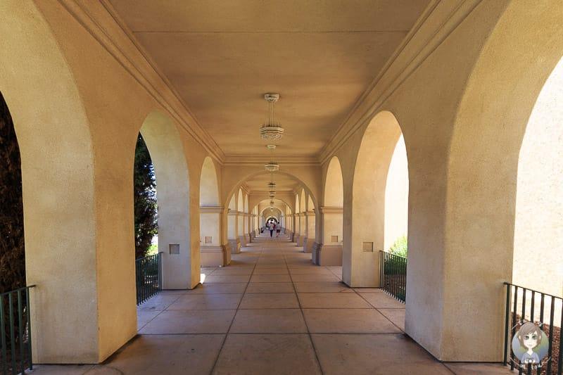 Säulengang Balboa Park