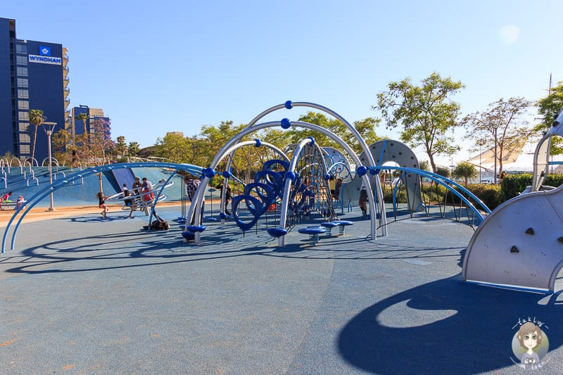San Diego Waterfront Park Playground