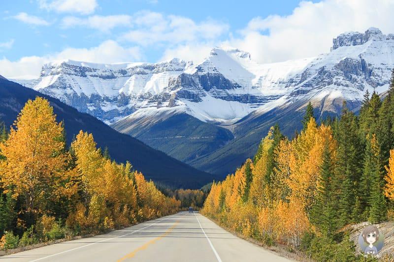 Auch Sonnenschein ist während der Nebensaison in Kanada möglich