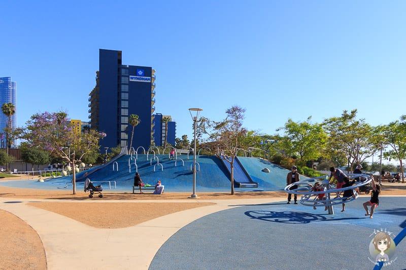 Spielplatz Waterfront Park San Diego
