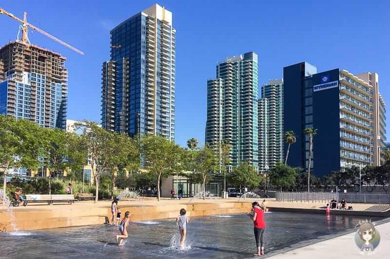 Wasserspass Waterfront Park San Diego