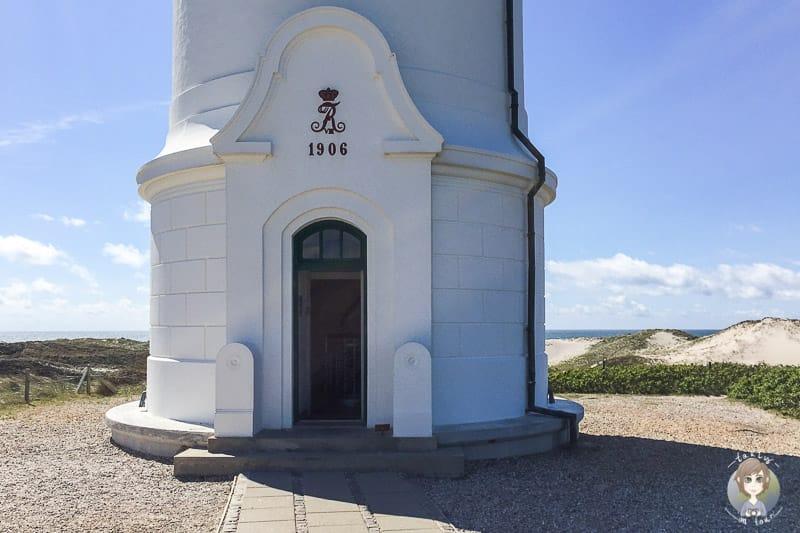 Der Eingang vom Lyngvig Fyr