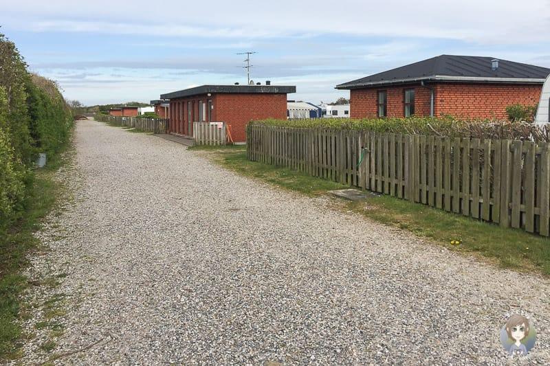 Hütten und Ferienwohnungen auf dem Sondervig Camping