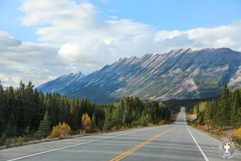 Interessante Berge in den Rocky Mountains in Kanada