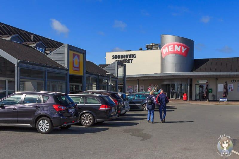 Meny in Søndervig zum Einkaufen