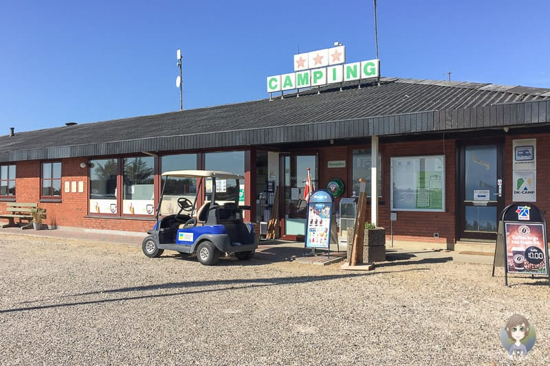 Der Sondervig Camping in Daenemark