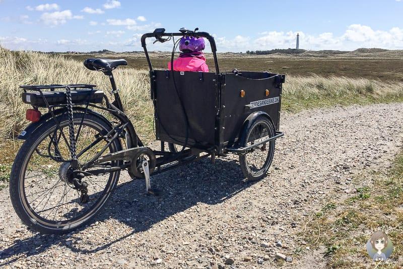 Auf dem Nordseekuestenradweg Dänemark zum Lyngvig fyr