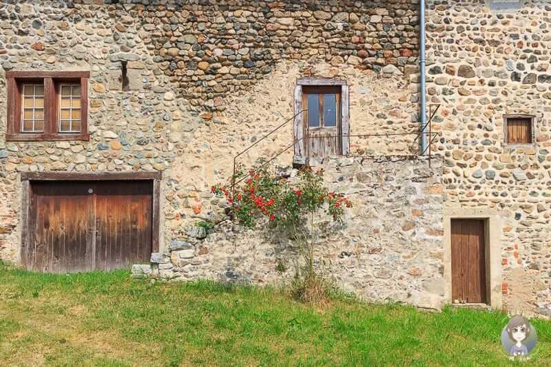 Besuch im Kloster von Pommiers