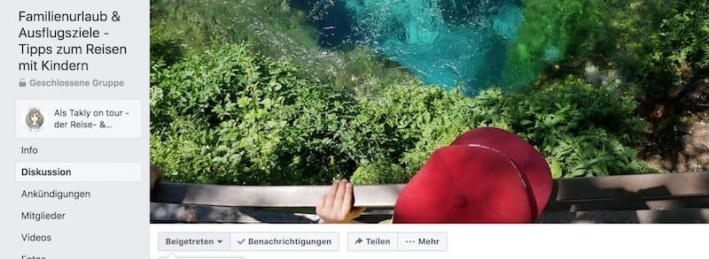 Eine Facebookgruppe