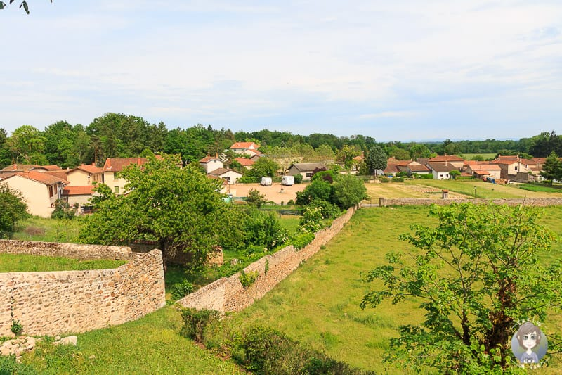 Pommiers in der Loire in Frankreich