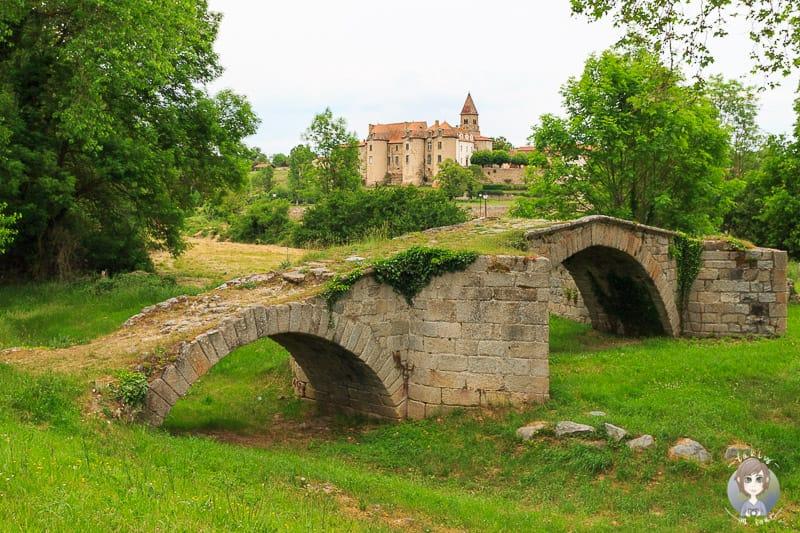 Schöne Orte der Loire in Frankreich