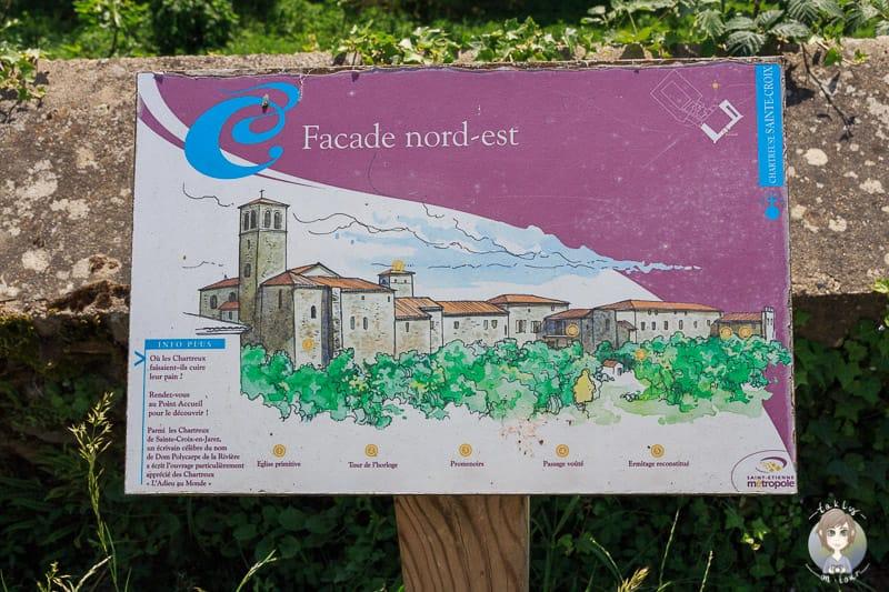 Sprache in der Loire in Frankreich