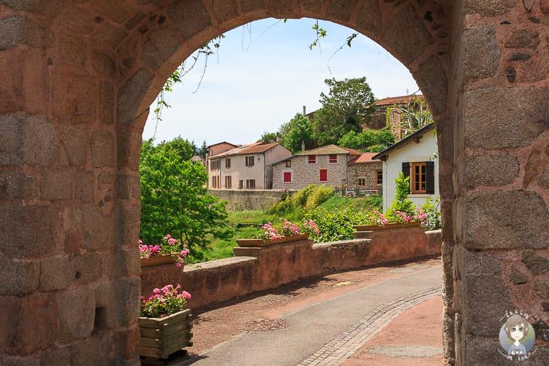 villages de caractere der Loire in Frankreich